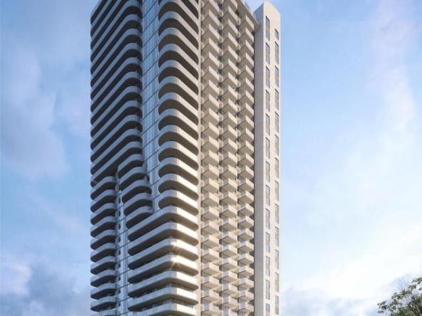 Rendering of Mississauga Square Condos building exterior