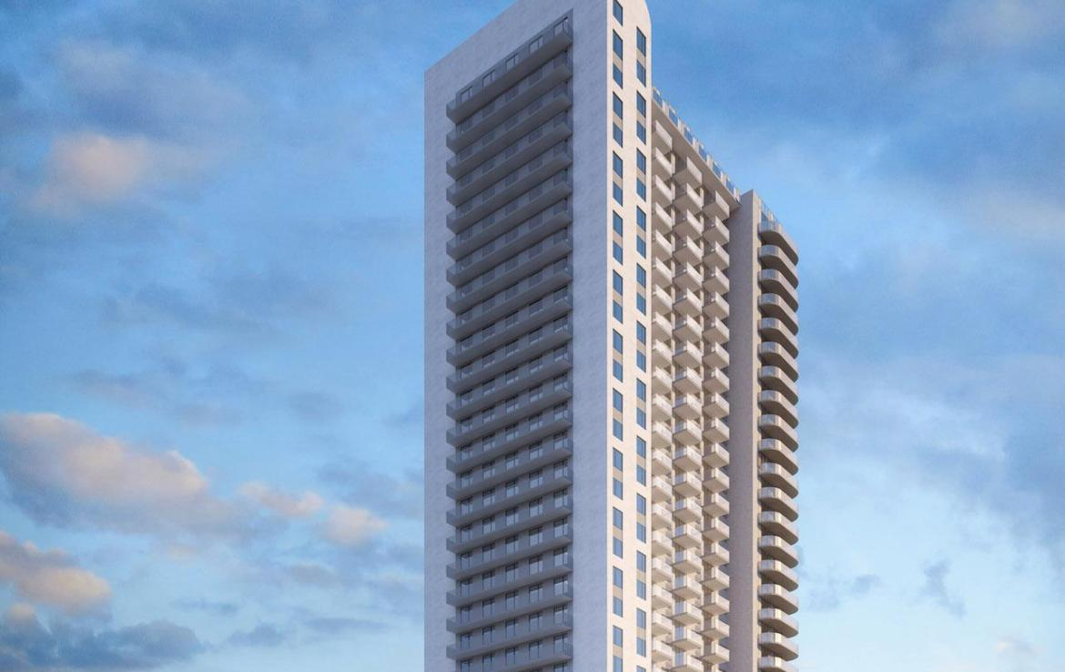 Rendering of Mississauga Square Condos building exterior