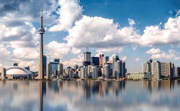 Waterfront Skyline of Toronto, Canada