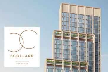 50 Scollard Condos in Toronto by Lanterra Developments