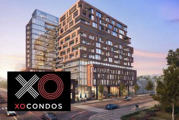 Exterior Rendering of XO Condos
