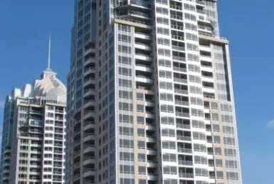 Exterior image of the Chrysler West Tower in Toronto