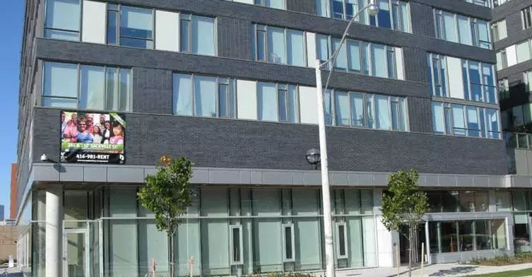 Exterior image of theDundas-Sackville Apartments 1 in Toronto