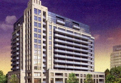 Exterior image of the M1 in Toronto