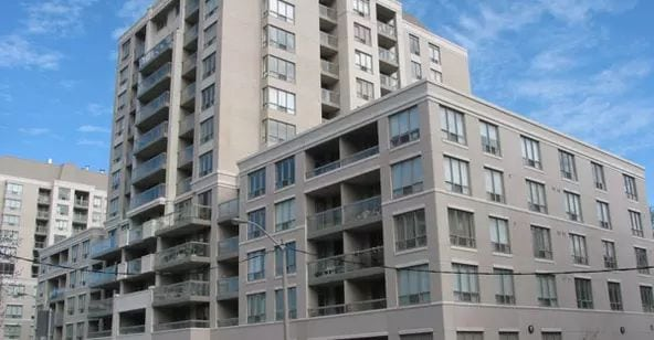 Exterior image of the Rio III Condos in Toronto