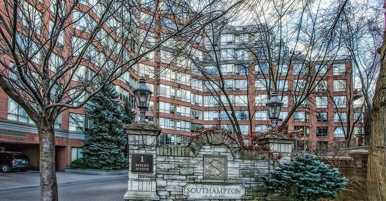 Exterior image of the Southampton in Toronto