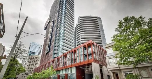 Exterior image of The Yorkville in Toronto
