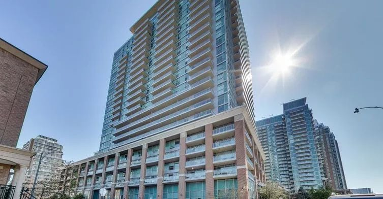 Exterior image of the Zip at Riverside Lofts Condos in Toronto