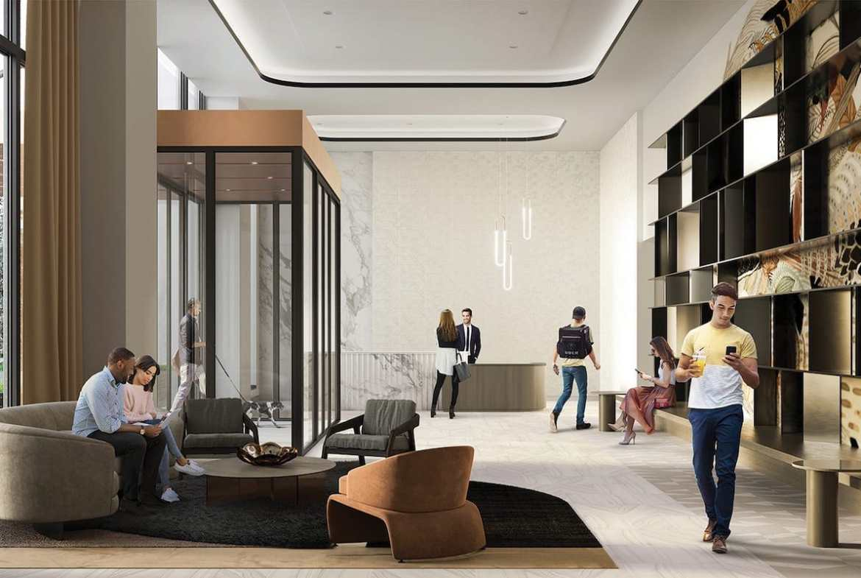 Rendering of Artworks Tower Condos Lobby
