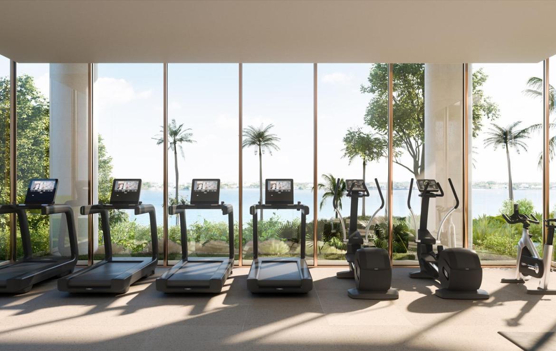 La Clara Residences fitness centre
