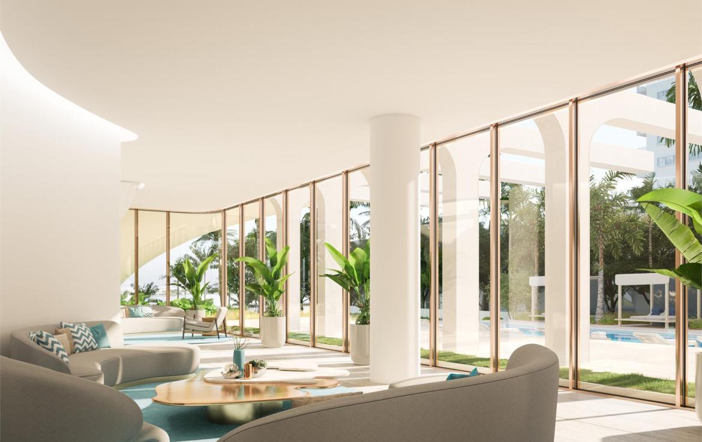 La Clara Residences lounge