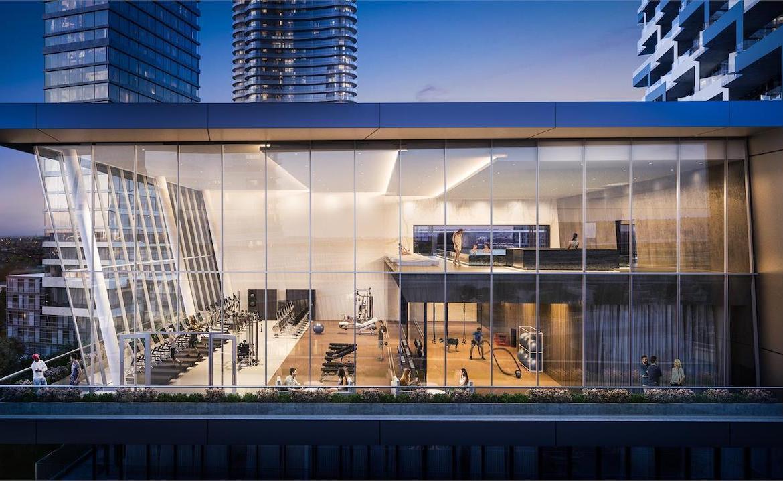 M City Condos 3 top floor centre