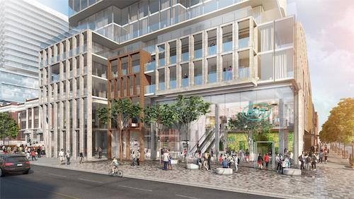 Bloor & Dufferin Condos Plaza Rendering