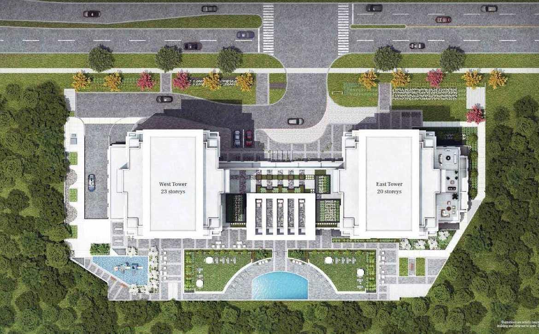 Keystone Condos Building Top-view