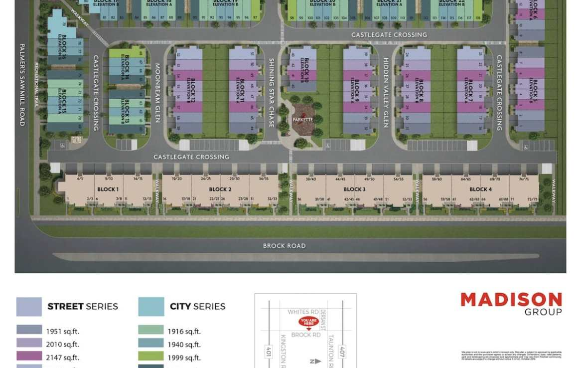 NuTowns Site Plan Rendering