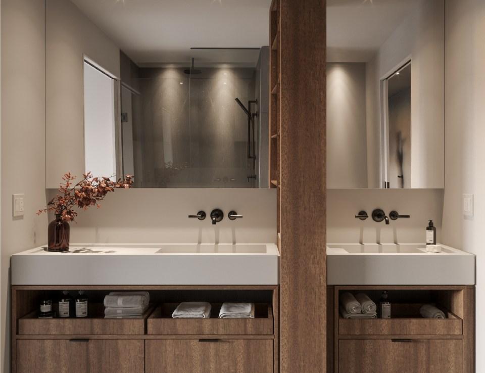 Rendering of 55C Bloor Yorkville Residences Bathroom