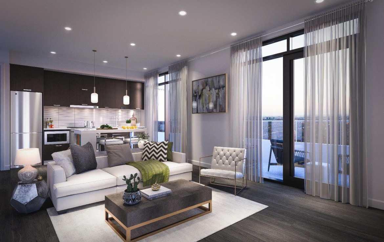 Verde Condos Suite Interior Rendering