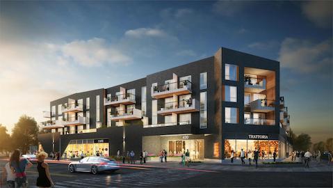 430 ESSA Condos Building Exterior