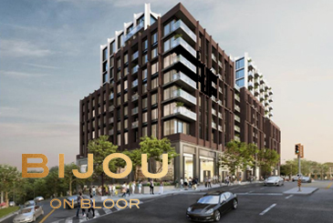 Bijou on Bloor Condos Exterior Rendering