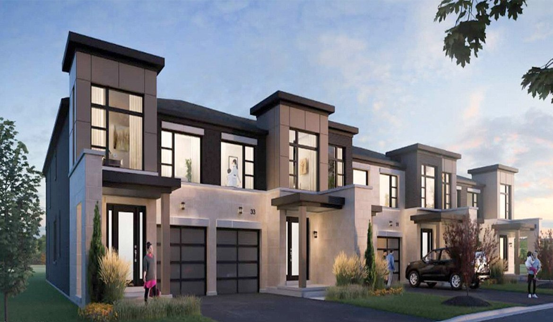 Horizons Modern Towns Building Exterior