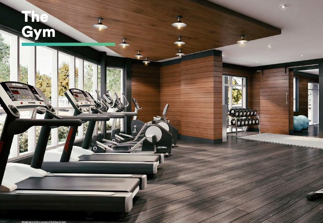 Rendering of Affinity Condos Gym