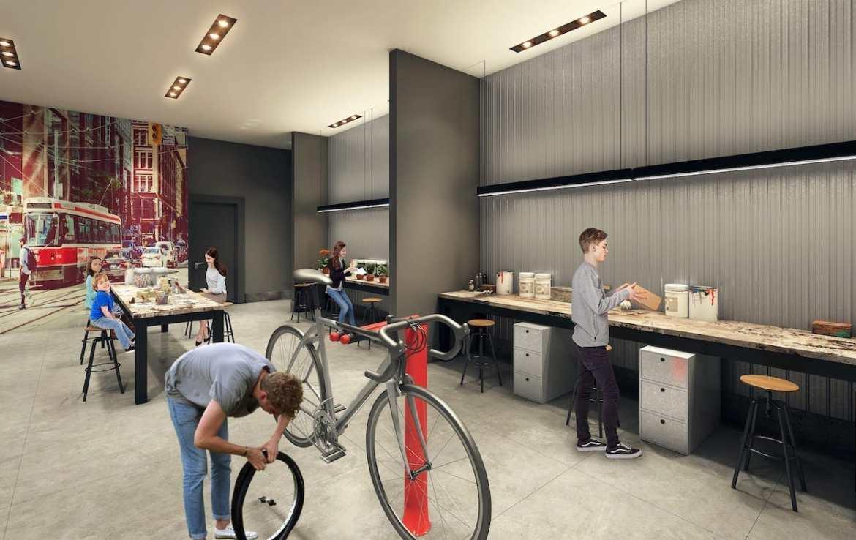 Garage Rendering of Reunion Crossing Condos