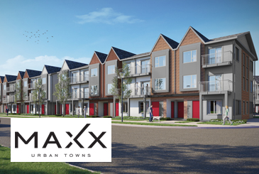 Maxx Urban Towns in Pickering by VanMar Developments