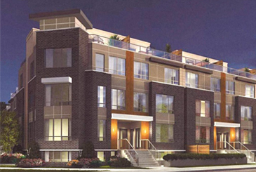 Exterior Rendering of Maxx Urban Towns