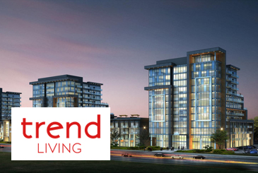 Exterior Rendering of Trend Living Condos