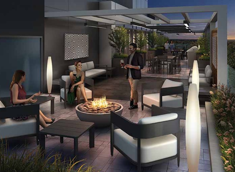 Terrace Rendering of Terrasse Condos at the Hunt Club