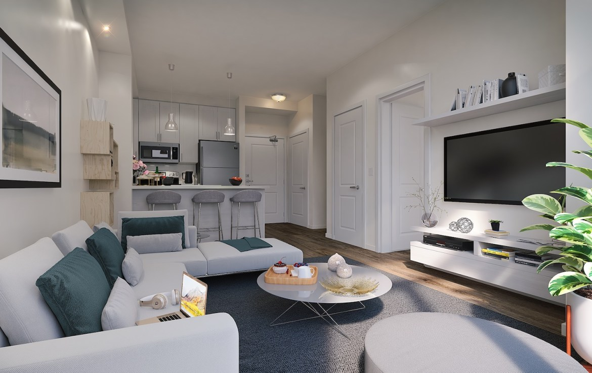 Suite Rendering of Trend Living Condos