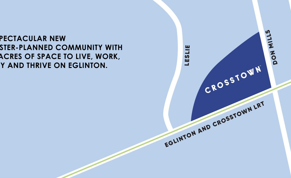 Crosstown Community Condos Main Intersections