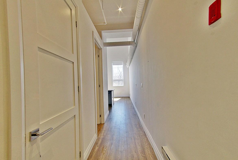 Dundurn Lofts Unit Hallway