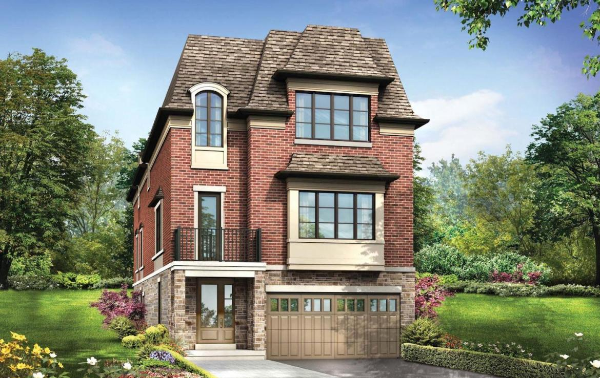 Exterior Rendering of Meadowvale Lane Detached Home