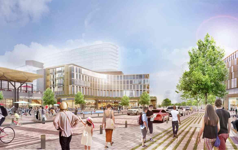 Rendering of West Village Port Credit Residences
