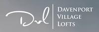 Logo of Davenport Village Lofts.