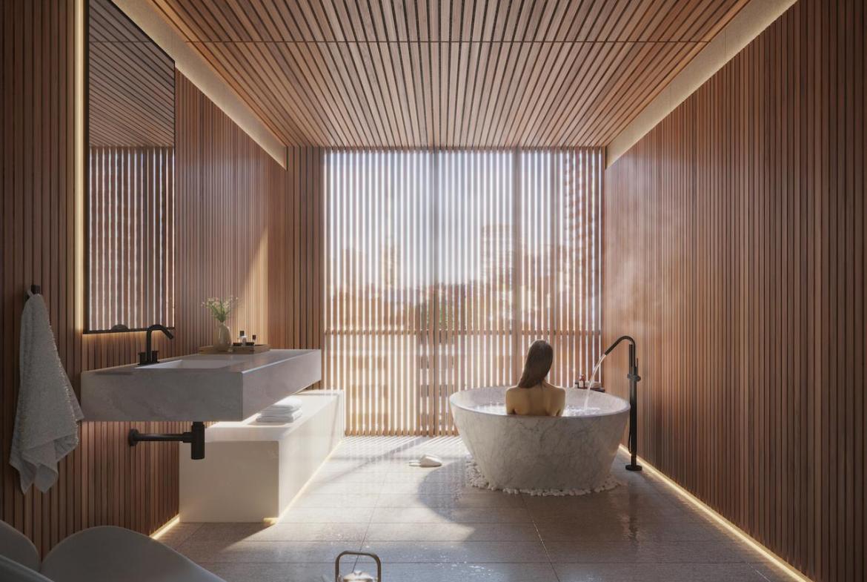 The Saint Condos spa