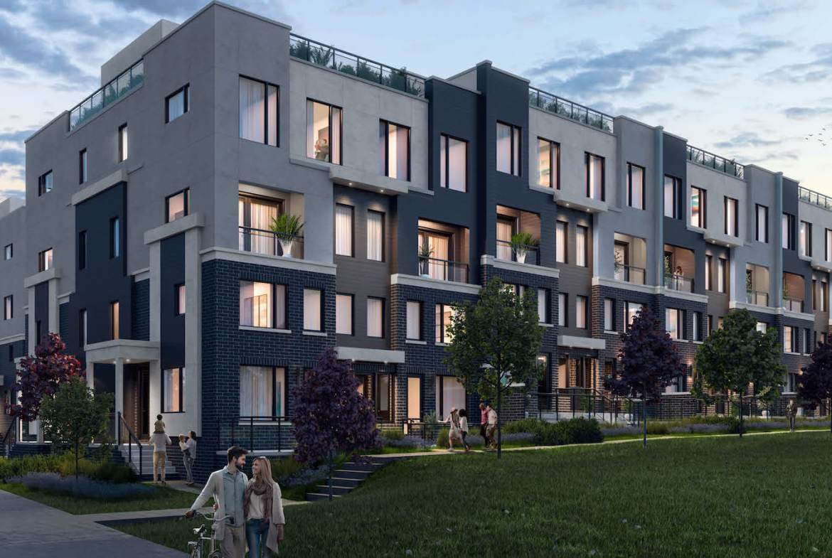 Exterior rendering of The Way Towns 2