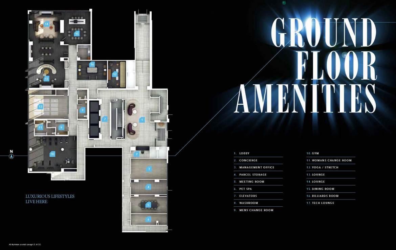 Universal City 3 Condo Ground Floor Amenities