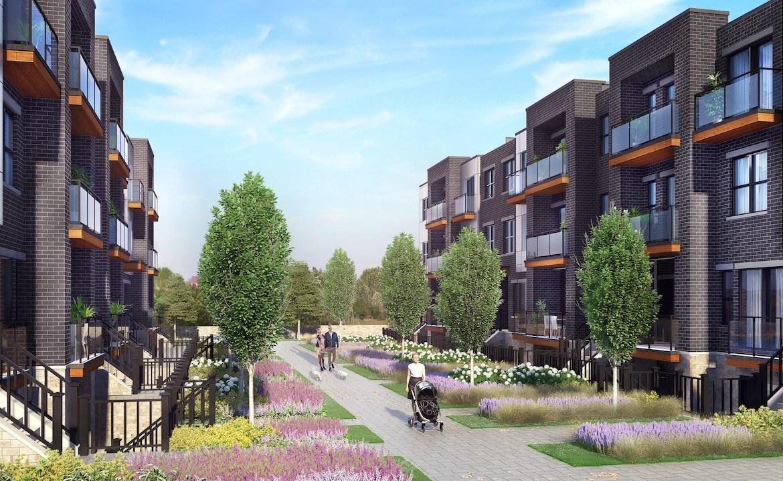Rendering of 20Twenty Towns Courtyard