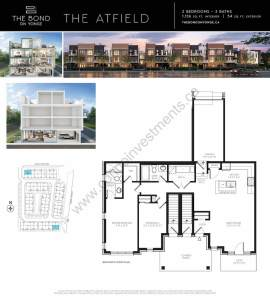 The Bond on Yonge floor plan The Atfield