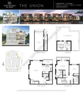 The Bond on Yonge floor plan The Union