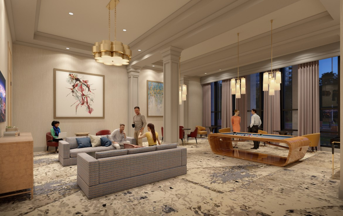 ORO Condos Games Room
