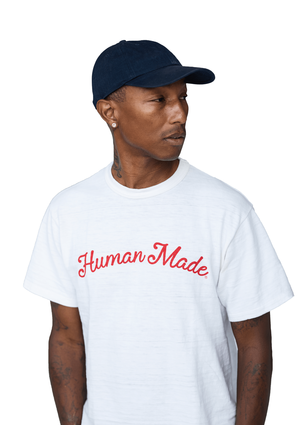 Image of Pharrell Williams as collaboration with Untitled Toronto Condos.