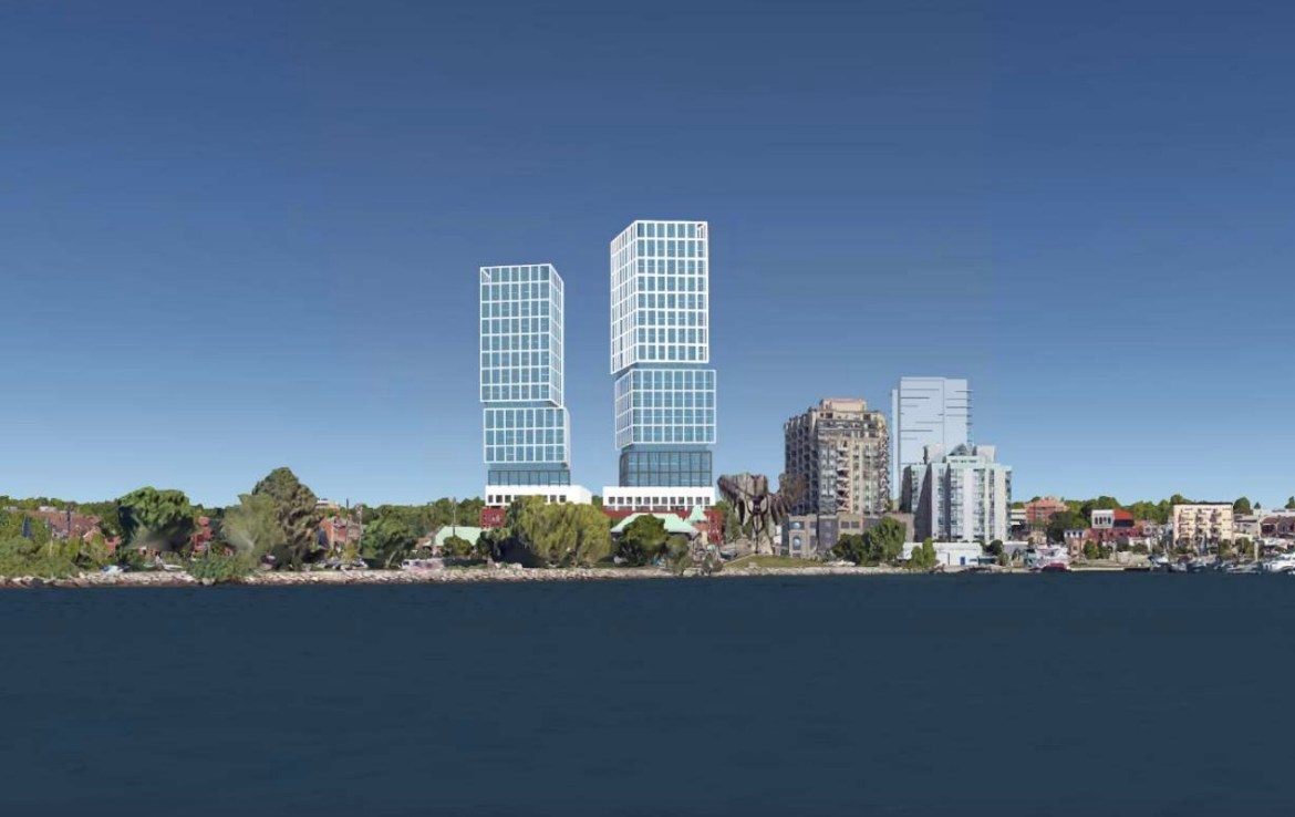 39-67 Dunlop Street, Barrie, Canada by Barrie Waterfront Developments and Oleson Worland Architects