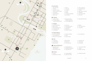 Harbour Place Towns Amenity Map in Oakville