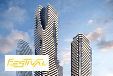 Festival South VMC Condos in Vaughan by Menkes & QuadReal.