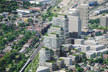 Rendering of Grand Park Village development.