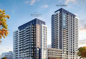 Rendering of The Thornhill Condos and Beverley at The Thornhill in Vaughan