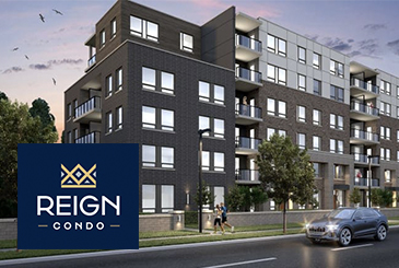 Reign Condos in Guelph by Reid's Heritage Homes.
